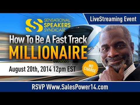 How To Be A Fast Track Millionaire with Myron Golden, Che Brown and Trevor Otts