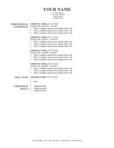 Harvard Gray Resume Template Downloadable  Resume Genius