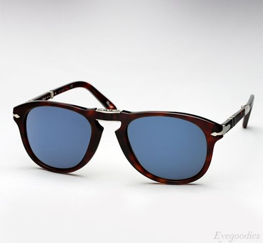 7264e910b151 Persol 714 SM sunglasses - Tortoise w/ Blue Lenses | Eyeglasses ...