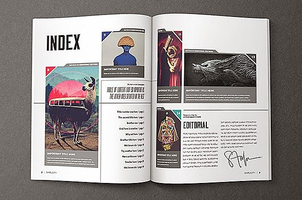 Spreading the Maglove - Free Indesign Magazine Templates ...