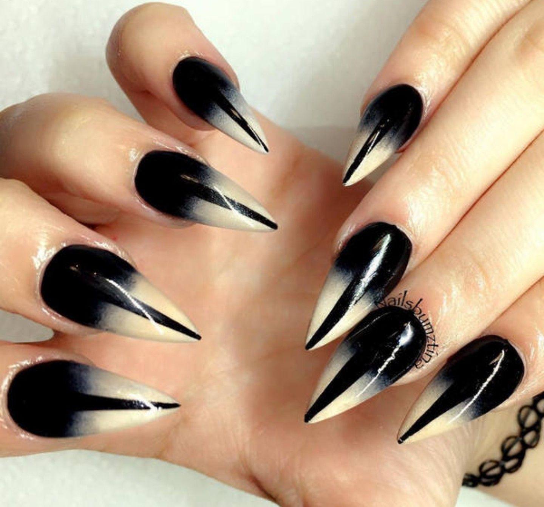 Halloween Nails, Funny Halloween, Nail Arts, Black Nail Art, White Nails, - Pin By Nesh On Nails Nails, Nail Art, Nail Art Designs