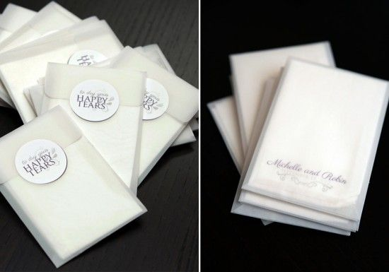 Wedding Diy Project Personalized Tissue Packs On Http Www Weddingbells