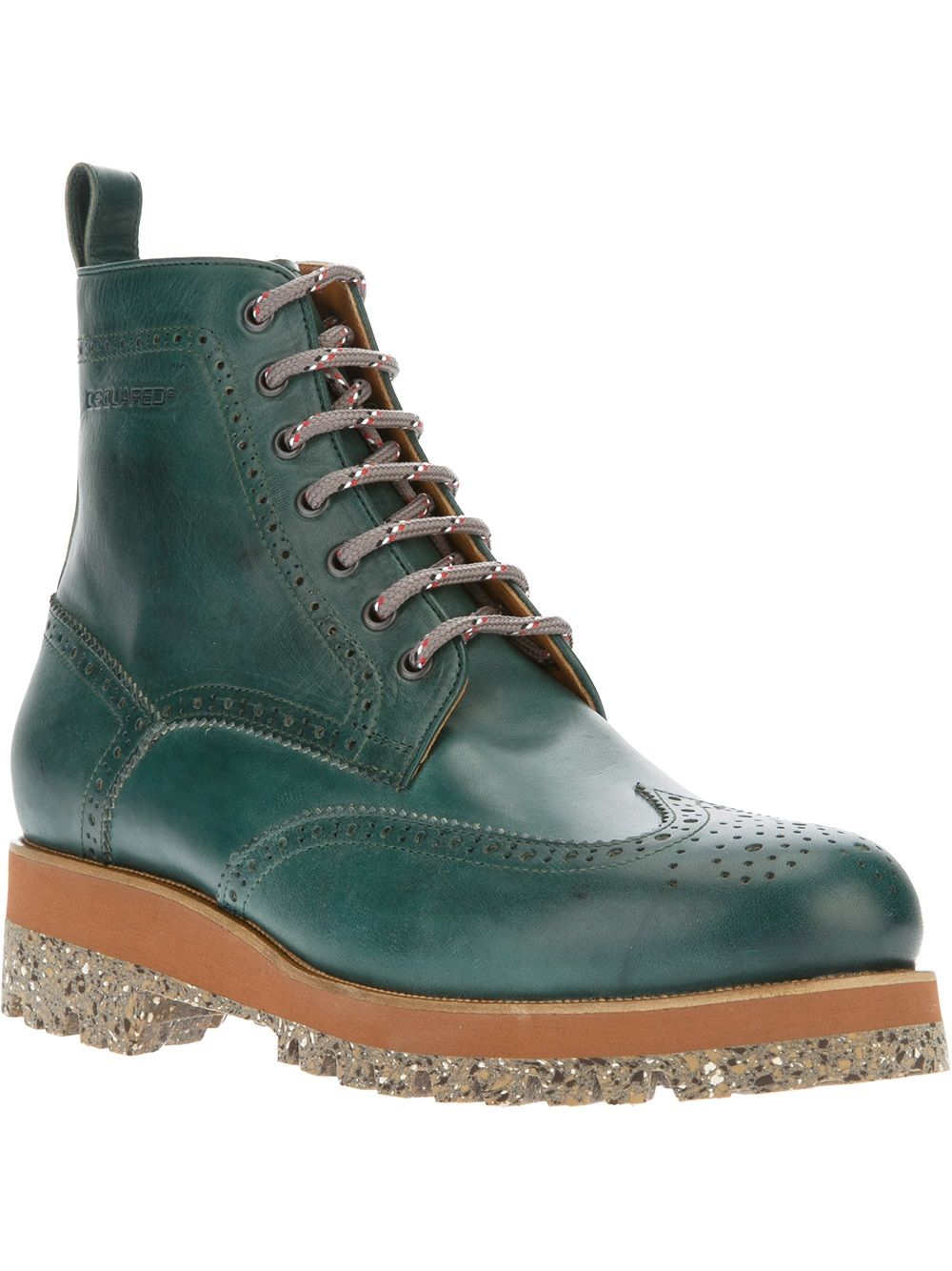 Dsquared2 Brogue Boot.