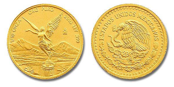 Gold, Mexican Libertad