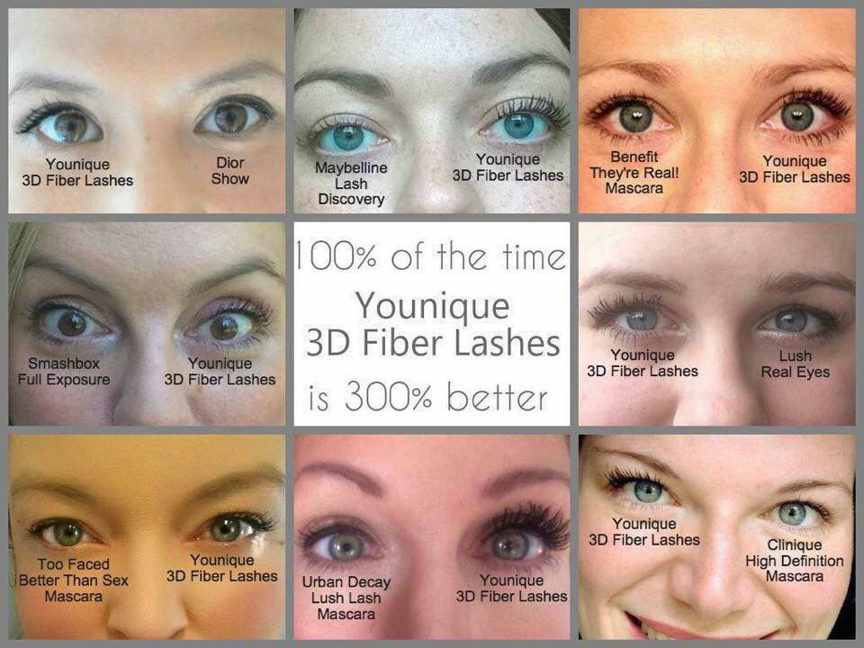 It's clear our mascara beats all others! Try it today if you don't love it send it back!https://www.youniqueproducts.com/LashesbyJenniferCoe