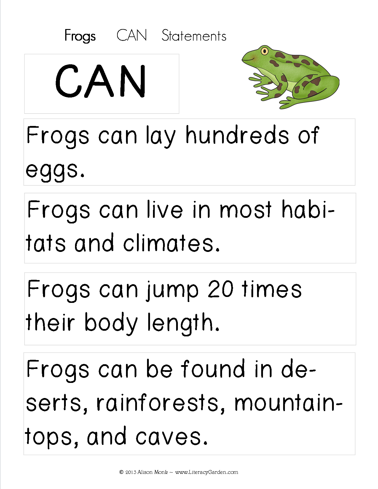 Frogscan
