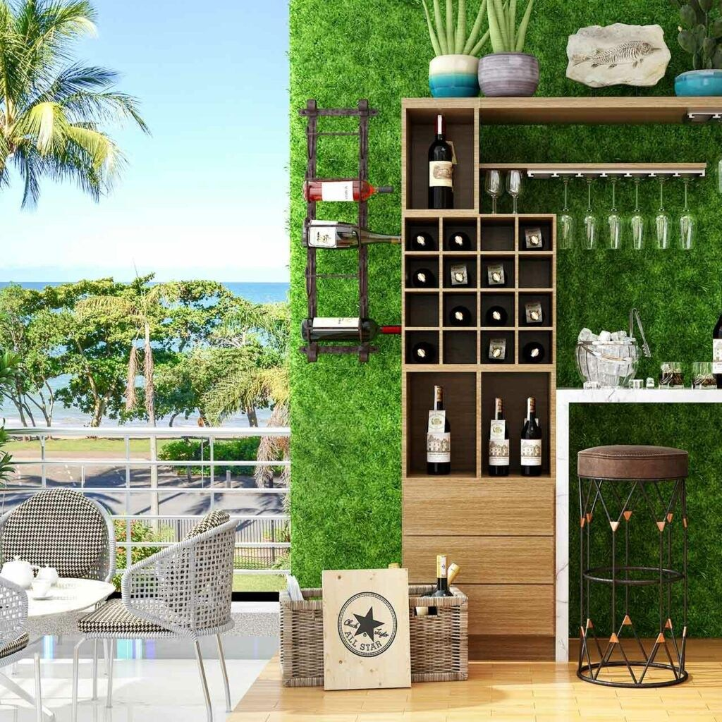 49 The Best Mini Bar Design Ideas In Balcony Apartment Matchness Com In 2021 Balcony Design Small Balcony Design Indian Balcony Designs