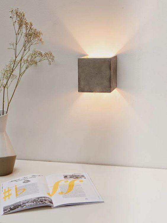 Beton - industrieel interieur - industriële woonkamer - verlichting ...