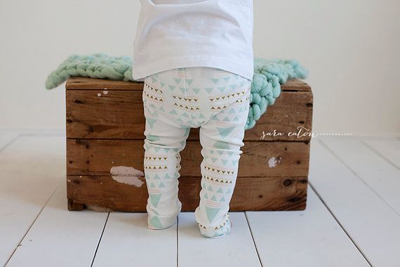 The Charlotte Leggings  All Organic Cotton door SugarPlumLaneBaby