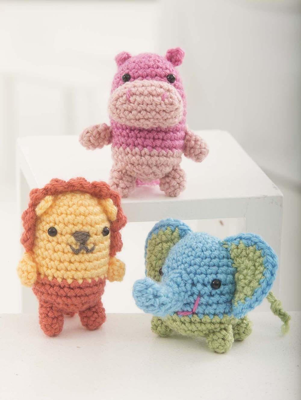 Critter Trio Pattern (Crochet)