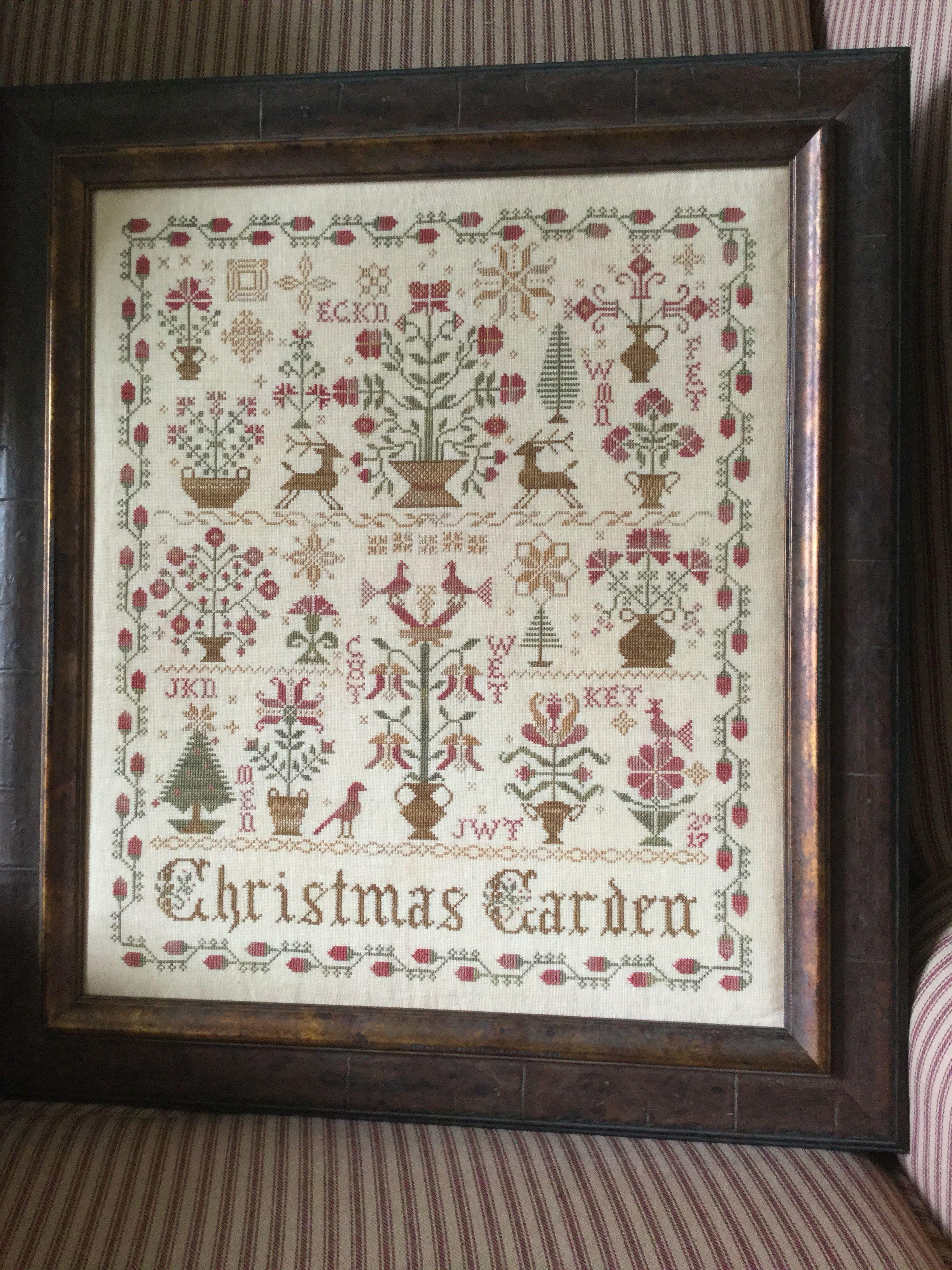 """""""Christmas Garden"""" By Blackbird Designs"""