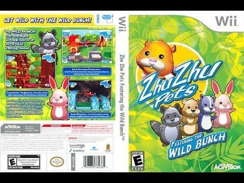 Zhu Zhu Pets Backlog Nintendo Wii Review Gameplay Zhu Zhu