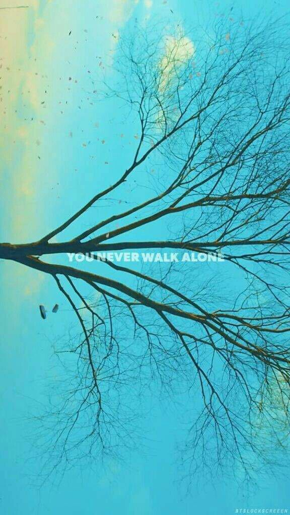 You Never Walk Alone Wallpaper Bts Pinterest Bts Bts
