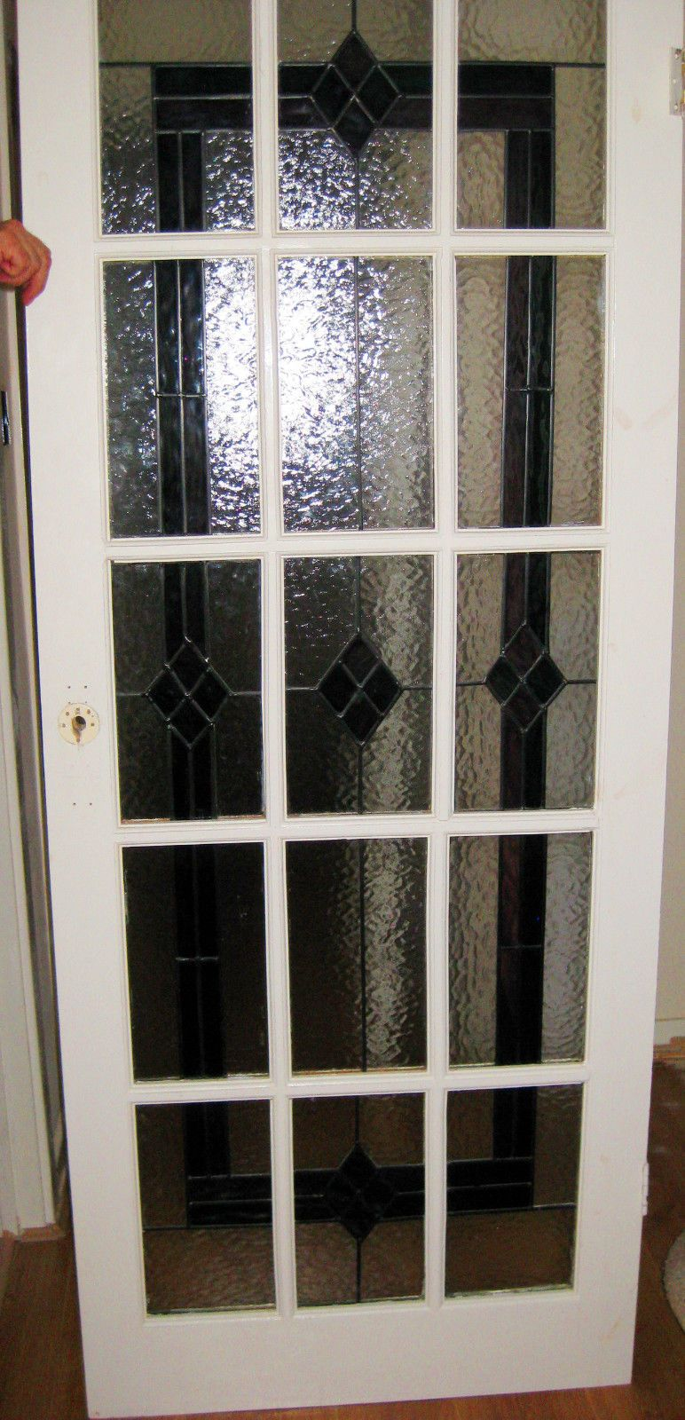 Stained Glass Leaded Internal 15 Panel Door 30 X 7175 Stained