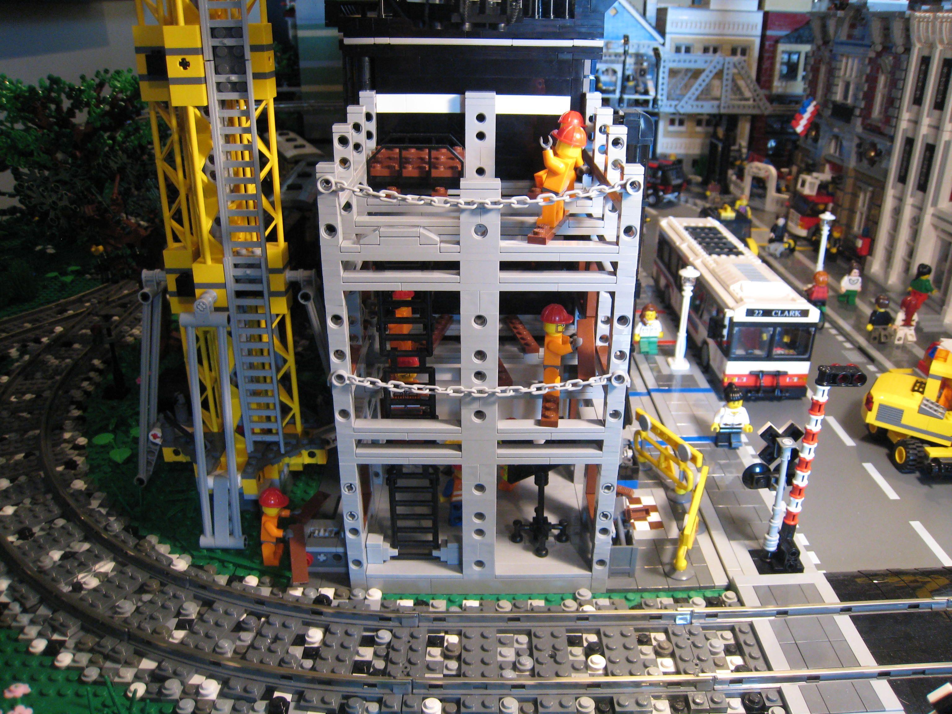 Lego construction site lego pinterest lego ideen for Lego modernes haus