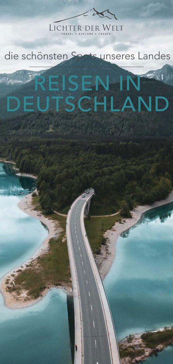 Die schönsten Reiseziele in Deutschland - 100 Highlights für deine Reise