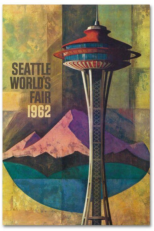 Trademark Global Lantern Press 'Travel Poster 19' Canvas Art