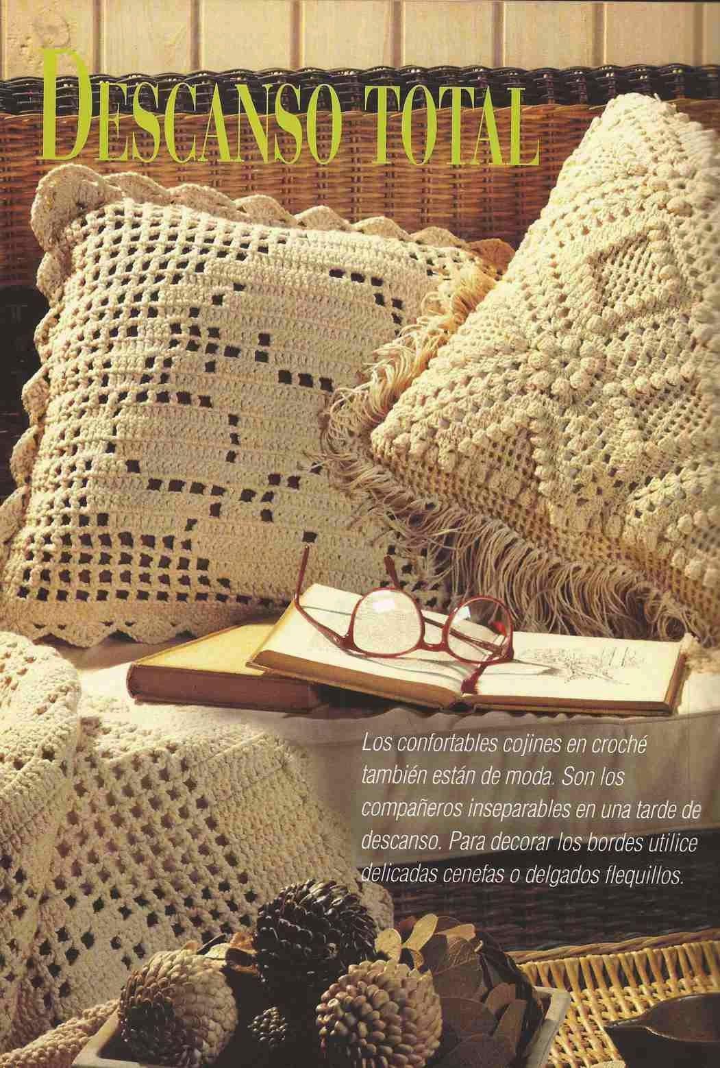 Los 10 Cojines a Crochet más hermosos que puedas imaginar | CTejidas ...
