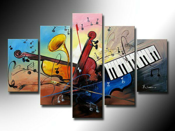 Compare Prices On Paintings Music Theme Online Shopping Buy Low Canvas Art Painting Canvas Wall Art Set Decorating With Pictures