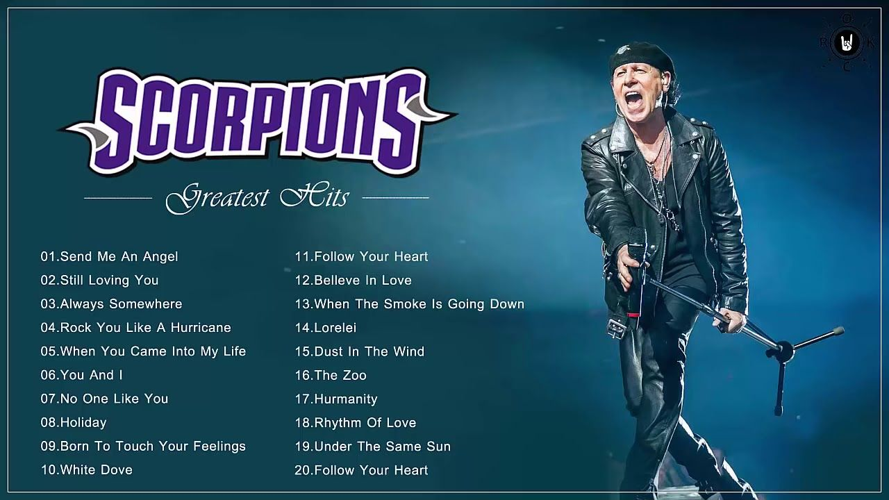 Scorpions Best Ballads Scorpions Greatest Hits Full Album In 2020 Mtv Unplugged Rock Songs Greatest Hits