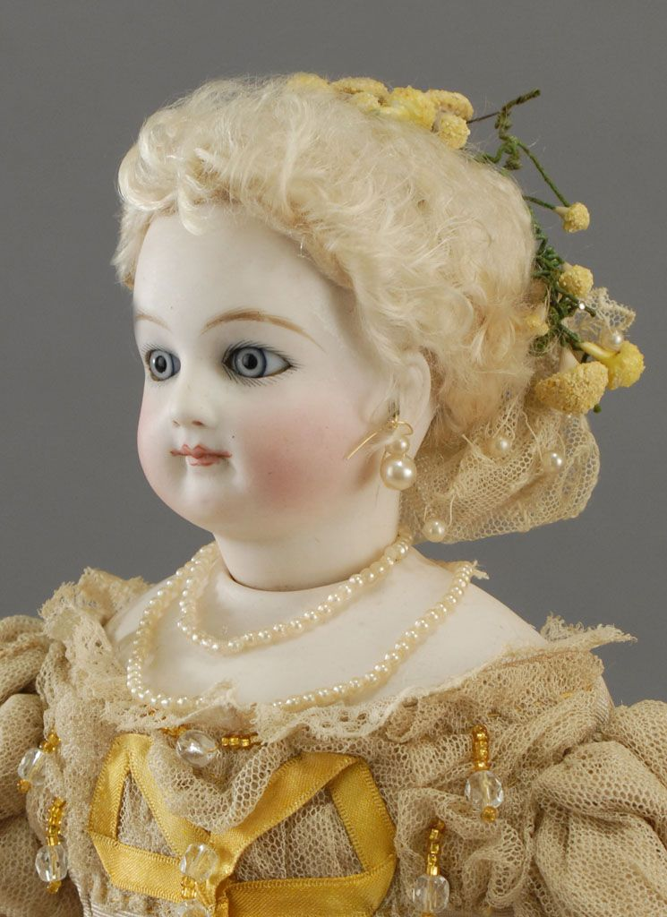 """16-1/2"""" fashion doll from Maison Jumeau"""
