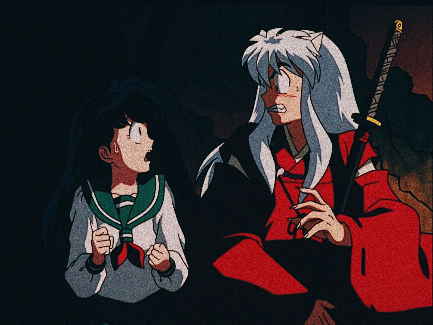 Pin by Alice the Flyeon 6 on InuKag Inuyasha memes