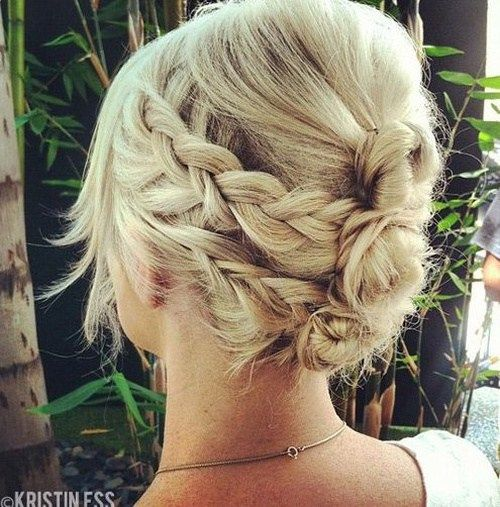 30 Easy and Stylish Casual Updos for Long Hair | Casual braids
