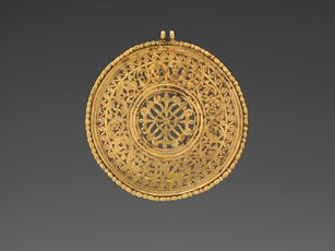 Early Byzantine                 (late 6th or early 7th century)            Openwork Medallionlate 6th or early 7th century
