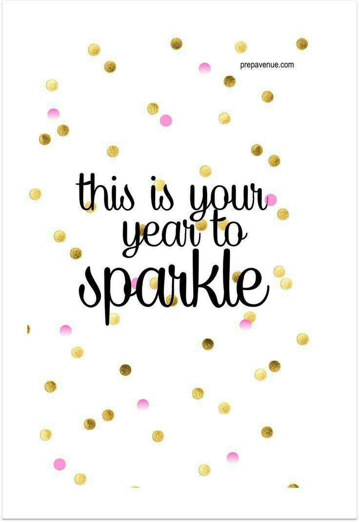 Happy New Year 2018 Quotes : NEW YEAR TO SPARKLE | TN | Pinterest ...