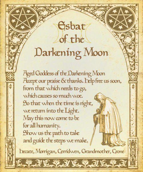 Esbat Of The Darkening Moon