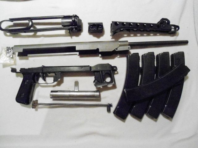 PPS43 Parts kit complete with barrel, mags, trunnion and