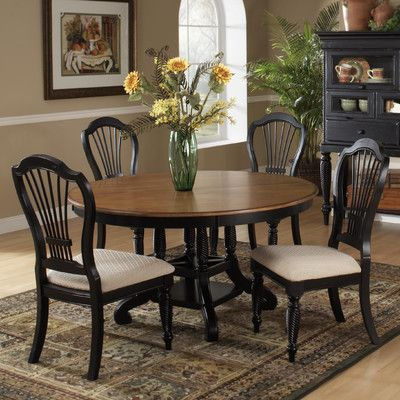 """Hillsdale Wilshire Dining Table with 18"""" Leaf"""