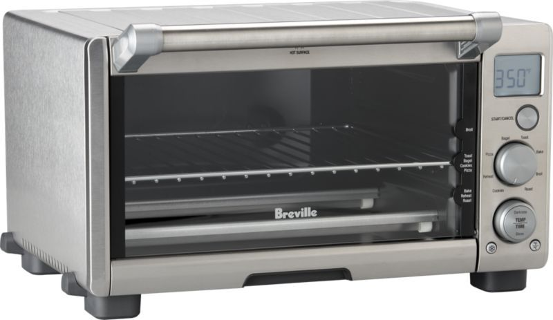 Breville Compact Smart Oven Reviews Crate And Barrel Smart Oven Oven Reviews Toaster Oven