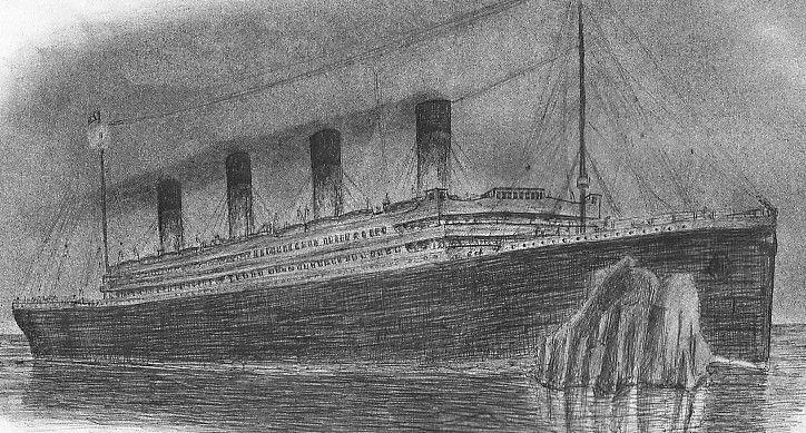 Les Dessins Sur Le Titanic Dessins Pinterest Dessin