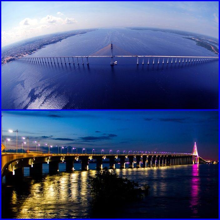 A Ponte Rio Negro é uma ponte estaiada da rodovia AM-070 (também chamada de Rodovia Manuel Urbano), que liga a cidade de Manaus ao município de Iranduba, no estado brasileiro do Amazonas. Foi inaugurada em 24 de outubro de 2011. É a única ponte que atravessa o trecho brasileiro do Rio Negro, sendo considerada como a maior ponte fluvial e estaiada do Brasil, com 3,6 quilômetros de extensão (3.595 metros).  A Noite ela fica toda iluminada e pode ser avistada da orla da Ponta Negra.