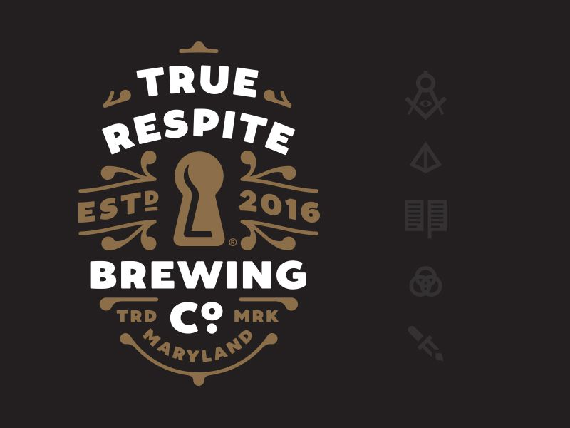 More beer? Yes please.   Creating some brand assets for a new craft brewery in the Maryland area.