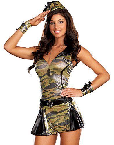 sexy soldier girl halloween costume - Soldier Girl Halloween Costume