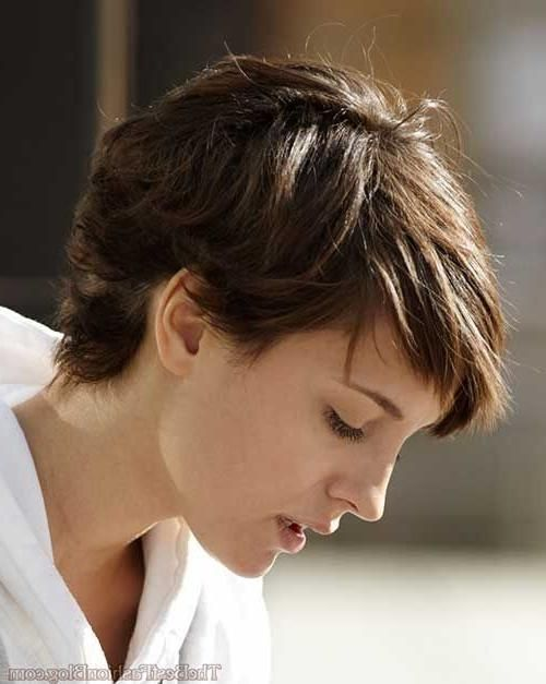 Photo Of Short Pixie Haircuts For Thick Wavy Hair Have Thicker