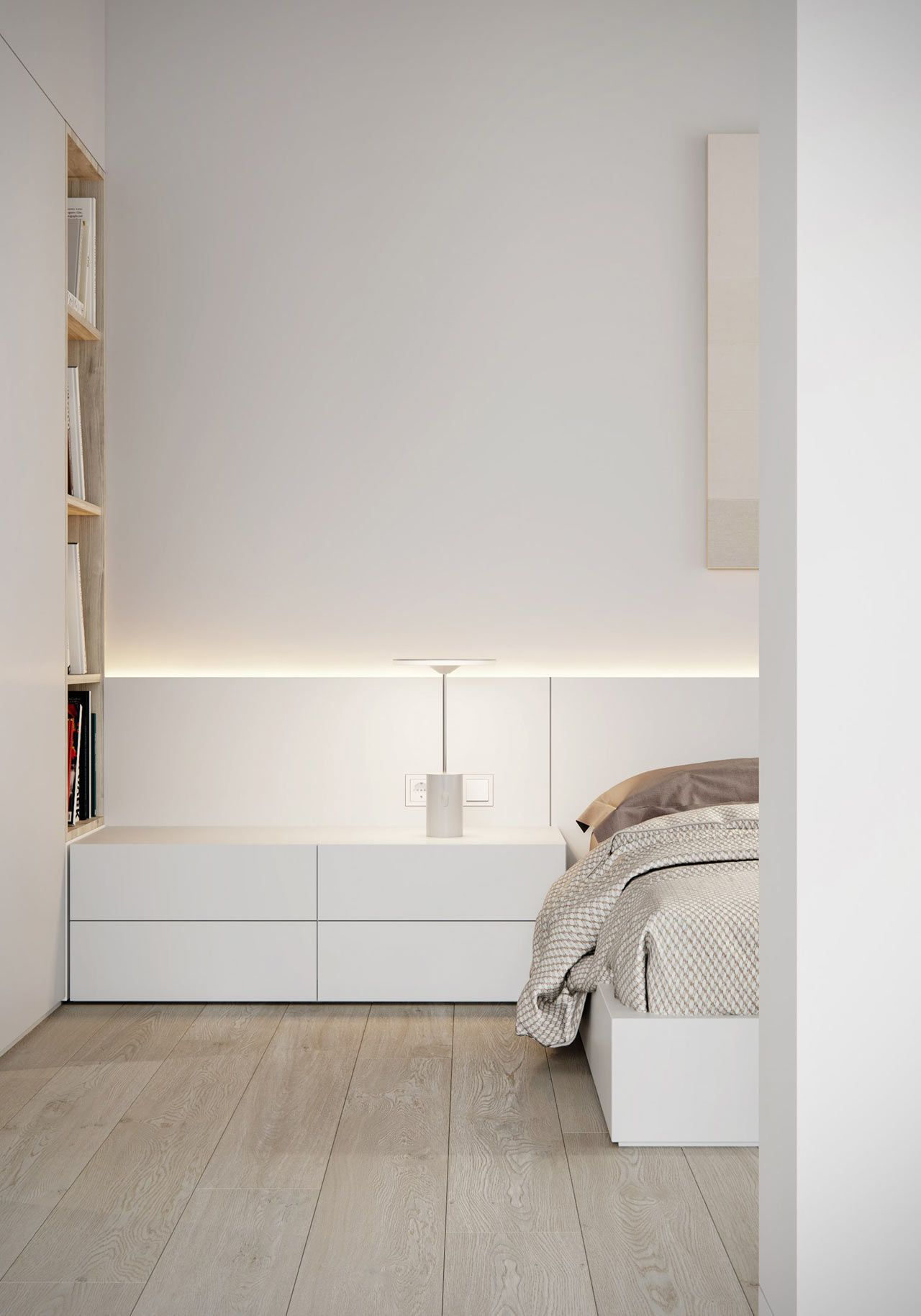 A Minimalist Apartment In Odessa For A Bachelor Decoraci N  # Muebles Y Alfombras Mihran