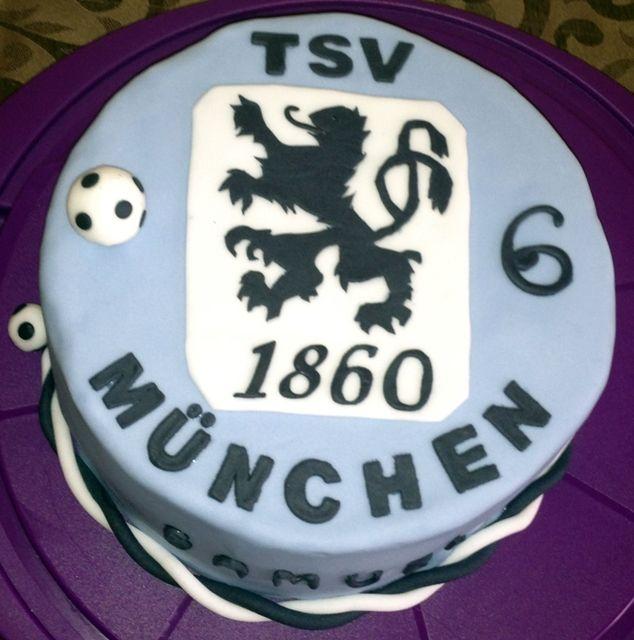 Tsv 1860 Munchen Cake 1860 Munchen Fussball Torte Und Dessert