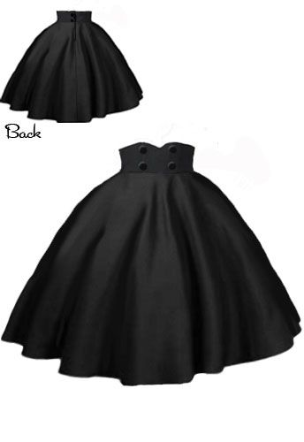 Rockabilly  Swing Skirt by Amber Middaugh  - This design won and will be produced and sold by Chicstar.com!