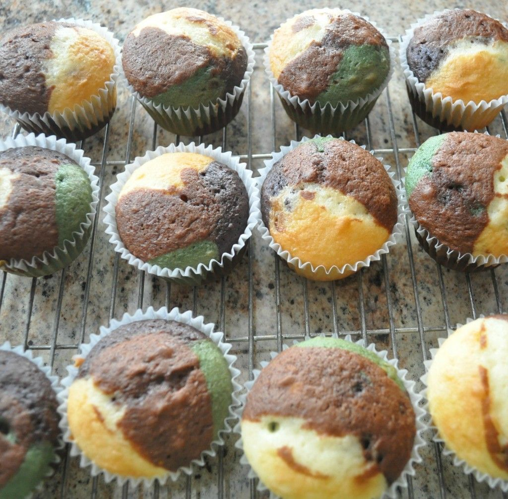 Camo Cupcakes Redneck Party Dessert