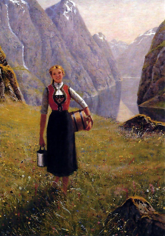 Hans Dahl 1849 1937 Seterjente Artist Art Renaissance Art Art