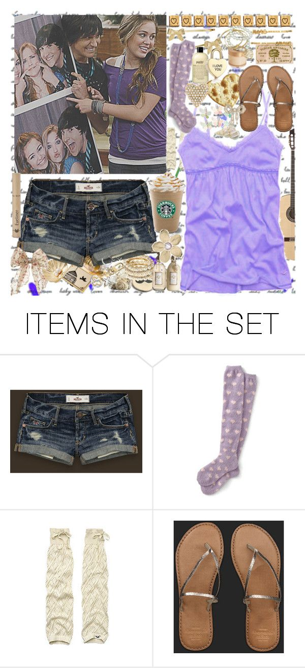 """""""hannah montana yeah? ♥"""" by cl32 ❤ liked on Polyvore featuring art"""
