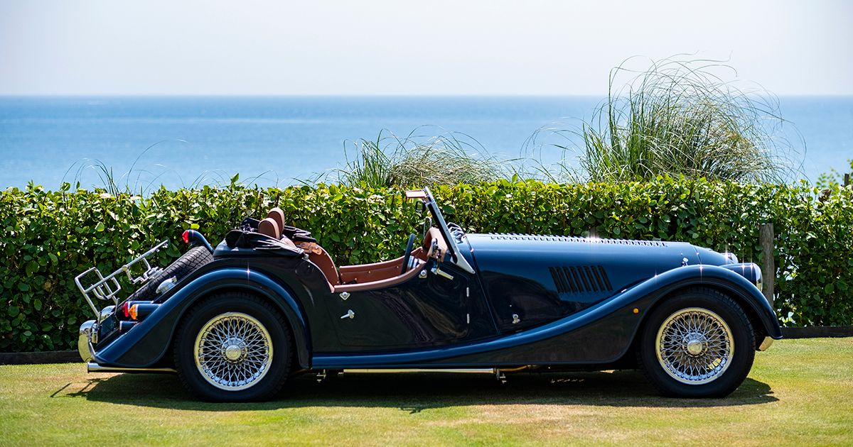 The Nare Has Become First Hotel In Uk To Have A Morgan Sports Car