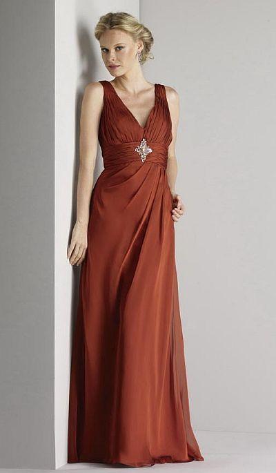 Size 10 Copper Liz Fields Bridesmaid Dress 433 at frenchnovelty ...