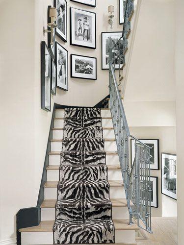 Best A Custom Zebra Runner In 2020 Houston Houses Zebra 400 x 300