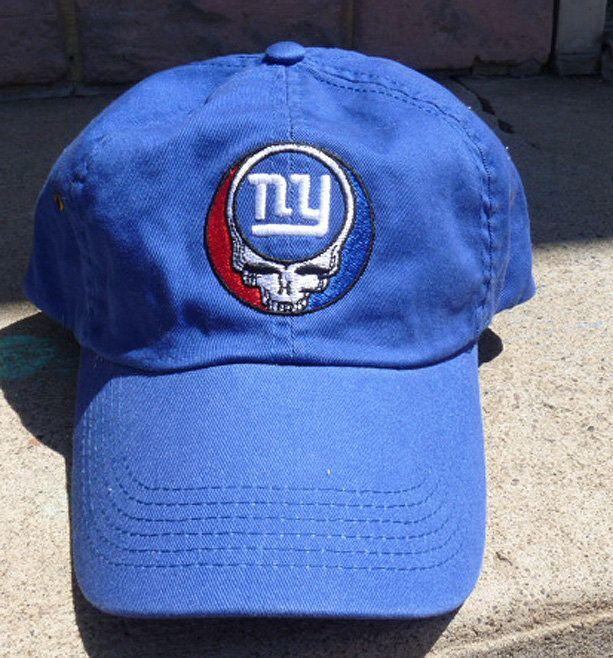e83db626d Steal Your New York Giants Grateful Dead Style Baseball Cap Hat ...
