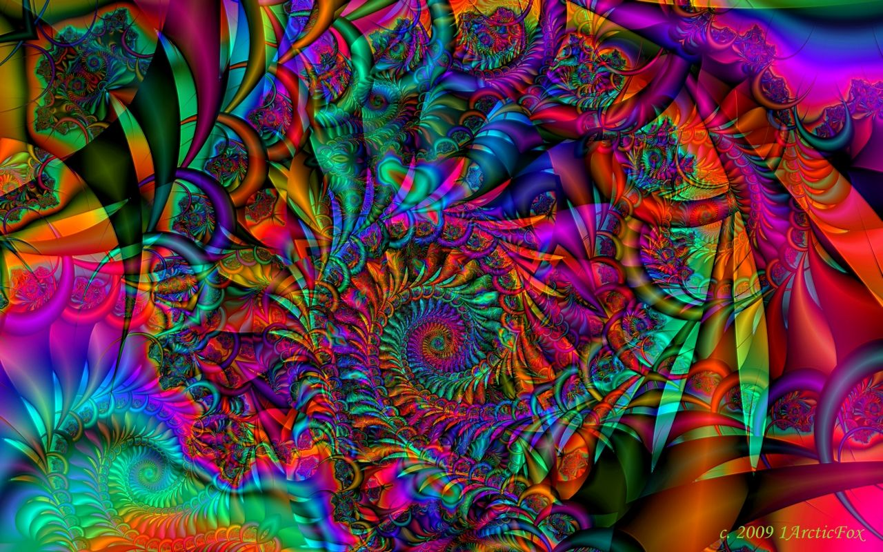 Trippy Psychedelic Art woodstock psychedelic dreams by