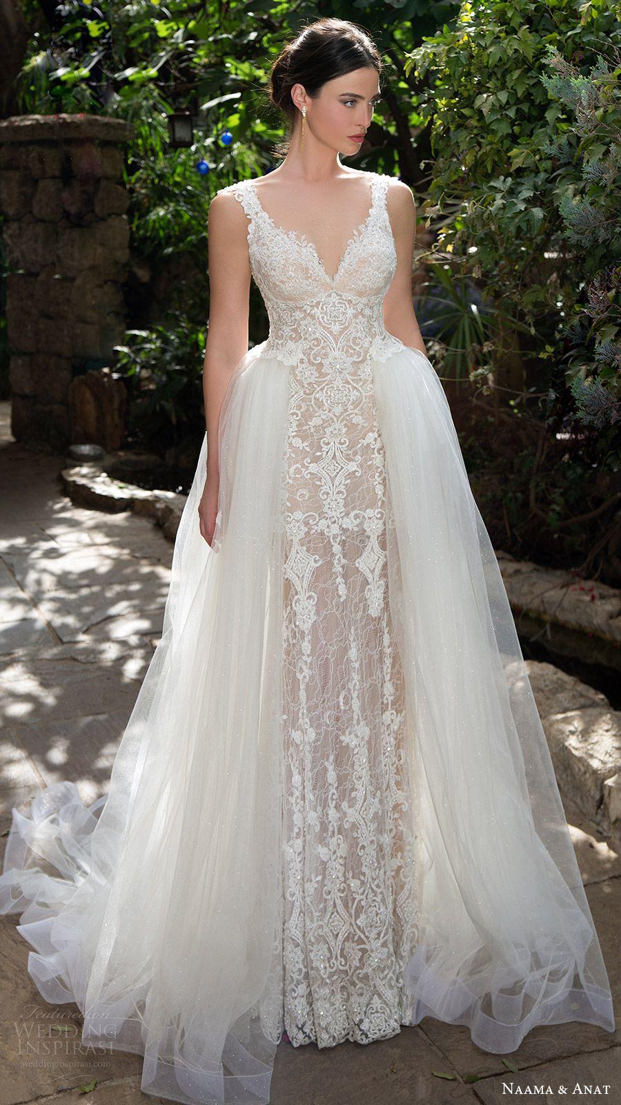 Wedding dresses for large busts  Naama u Anat  Wedding Dresses u Primavera Bridal Collection